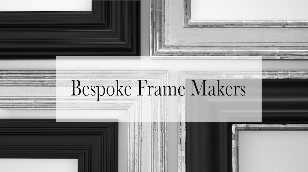 Bespoke frame makers - Rich and Davis Artisan Frame Makers
