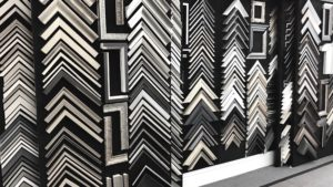Sophie Brown sample wall rich and davis artisan picture frames