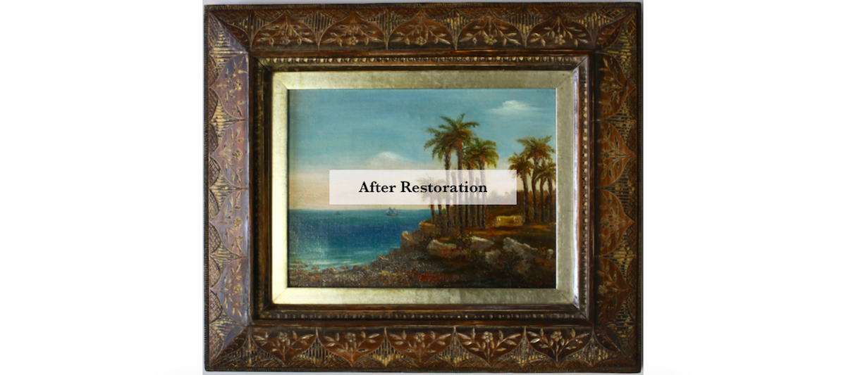 Restoration - Rich and Davis Artisan Frame Makers