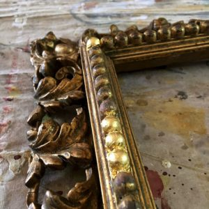 Rich and Davis picture frame restoration water gilded repairs