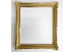 Rich and Davis 'Fox' frame Thallon reproduction picture frame 23K gold water-gilding