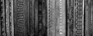 Antique Timber Moulds detail melbourne picture framers