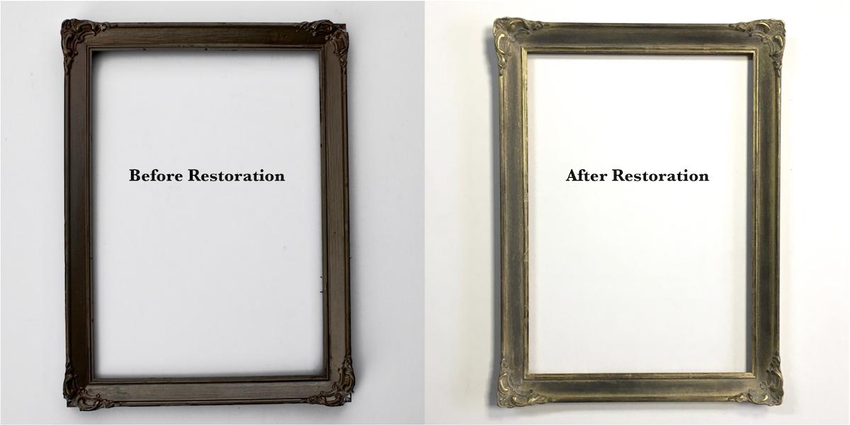 Fantastic Frame Restoration Paint Images - Frames Ideas - ellisras.info