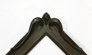 Dark bronze powder traditional frame wide