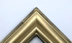 Dutch metal gold Dutch style picture frame chunky 1